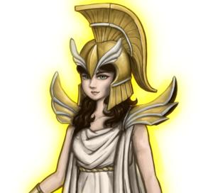 Anthropomachy's Athena